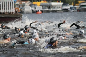 Simning Mora Triathlon 2015